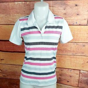 🍄3/45$🍄 Adidas golf tennis polo size small